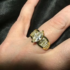 9.5 Marquis Gold Ring